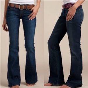 Lucky Brand Jeans Charlie Flare Dark Wash 6 28